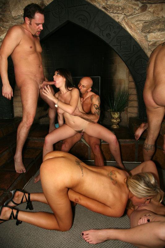 Hard fucking orgy
