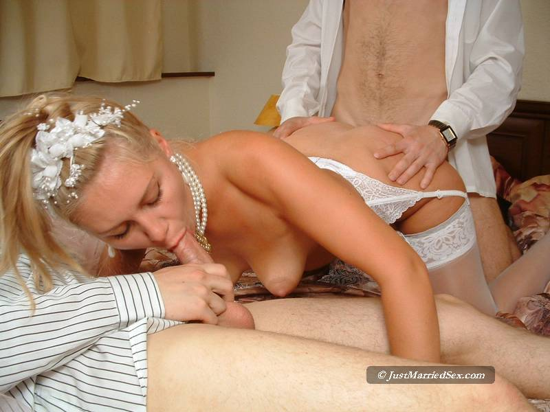 Bride fucked on wedding day